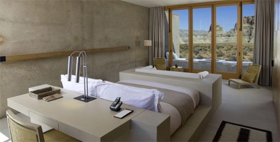 Avec 34 chambres et suites réparties en villas tel un ancien village indien amangiri offre tranquillité et exclusivité lhôtel se veut un repère moderne