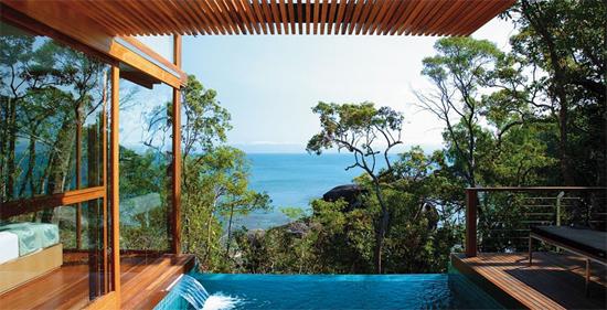 Les plus beaux hotels du monde hotels de luxe guide de for Fenetre sur pacifique