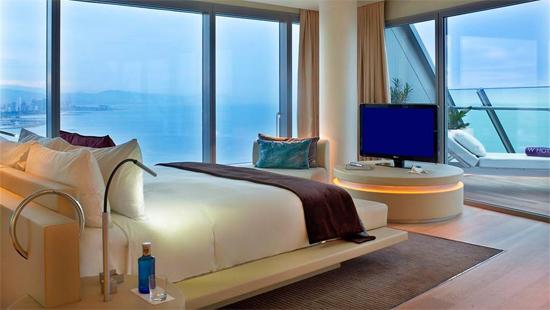 H tel luxe barcelone les plus beaux h tels du monde for Hotel design a barcelone