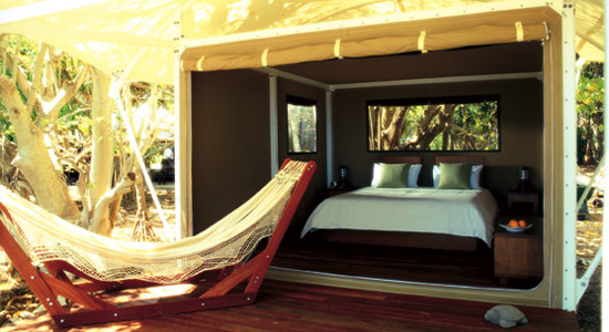 les plus beaux hotels du monde wilson island australie. Black Bedroom Furniture Sets. Home Design Ideas