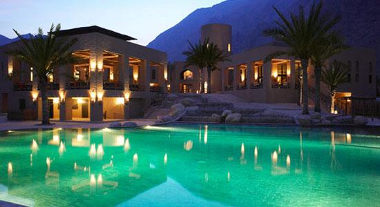 voyage luxe oman les plus beaux h tels du monde. Black Bedroom Furniture Sets. Home Design Ideas